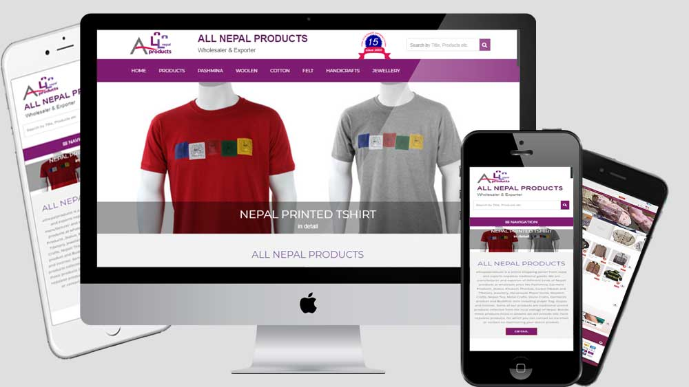 Nepalese Product exporter Ecommerce these for small business