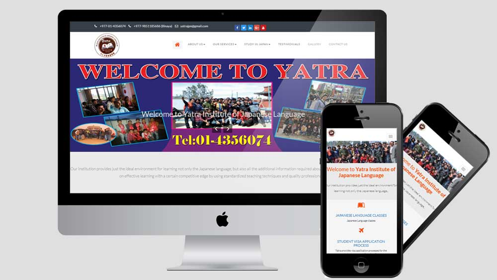 Yatra Japan is a Japanese Language Institue as well as Educational Consultancy for Japan.